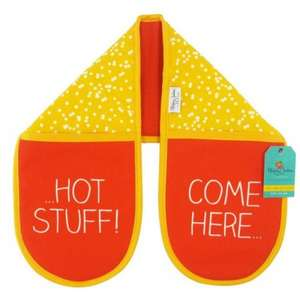 Happy Jackson Hot Stuff Double Oven Glove - was £16.99, now £8.31 @ Internet Gift Store