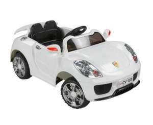 Chad Valley 6V Diamond White Sports Car - £99.99 (Down From £149.99) - Argos