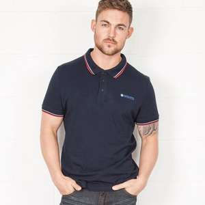 Lambretta mens Polo Shirts now £12 was £35 in Navy, Black, Grey, Red plus £3.95 delivery or free over £75 @ Slaters