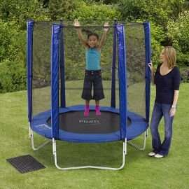 Plum 6ft Trampoline & Enclosure. £60 Tesco