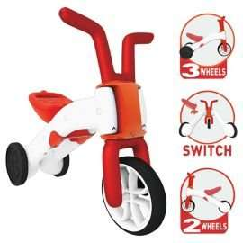 Chillafish Bunzi 2 in 1 Balance Bike, Red and Pink, 22.50, (£7.50 off), @Tesco direct