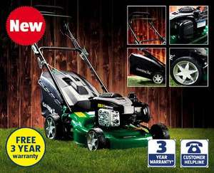 140cc Self-Propelled Petrol Lawnmower £179.99 @ Aldi (£175.49 with voucher)