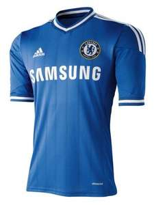 Adidas Chelsea FC Home Shirt 2013/2014 for kids now 70% OFF £11.40 @ INTERSPORT