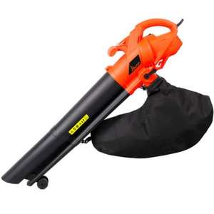 NEW 2600W GARDEN VAC ELECTRIC LEAF BLOWER VACUUM SHREDDER MULCHER BLOWER 40L BAG £22.99 del @ ebay via  prouni seller