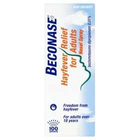 Beconase Hayfever Relief for Adults Nasal Spray 100pk £3.00 @ Asda