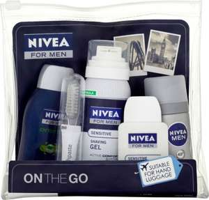 Nivea Men Travel kit £5 @ tesco