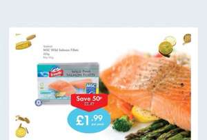 Wild pink salmon fillets down from £2.49 to £1.99 @ Lidl