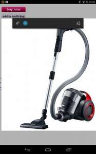 Samsung VC20F70HDER - Vacuum Cleaner. £149.00 @ Appliance City. £75 after cash back claim to Samsung.