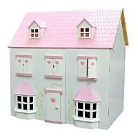 Traditional Wooden Dolls House now £20 @ Asda Direct