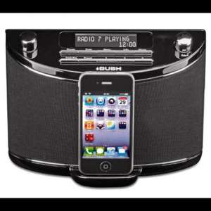 Bush curve DAB radio and IPod Dock £19.99 Argos/eBay