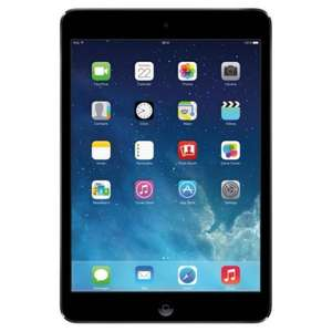 iPad mini with Retina display with Wi-Fi 16GB Space Gray £289.99 with code @ sainsburys