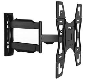 Invision® TV Wall Mount Bracket - New Slim Line Design With Cantilever Arm Tilt & Swivel Feature For 26 - 55 inch TV Screens, £25.99 Sold by Invision Technology (UK) Limited and Fulfilled by Amazon