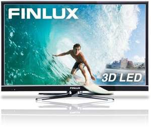 Finlux 32'' 3D LED TV, Freeview HD, PVR & 8x 3D Glasses - £169.99 - eBay/Finlux