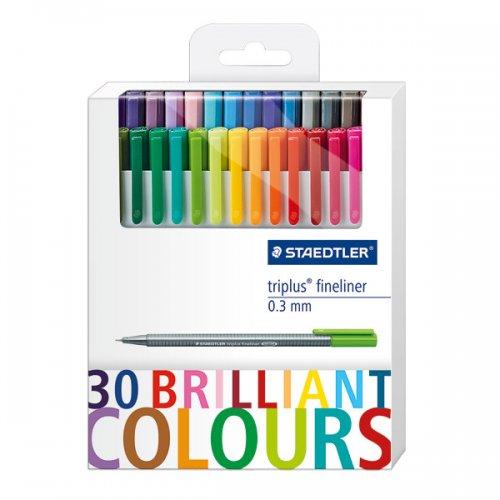 Staedtler Triplus Fineliner 30 Pen Set £9.99 @ Cult Pens