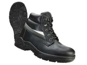 POWERFIX Men's Leather Safety  Boots £19.99* Per Pair. Available from Monday 2nd June from Lidl.