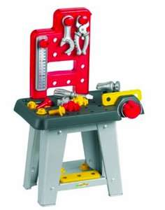 Ecoiffier Mini Workbench @ Amazon £5.19 (Spend £10+ for free P&P)