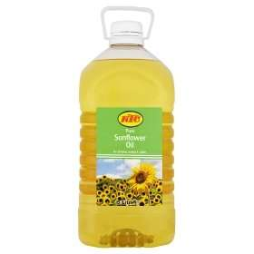 KTC Sunflower Oil or KTC Vegetable Oil 5L- 2for £8 @ ASDA