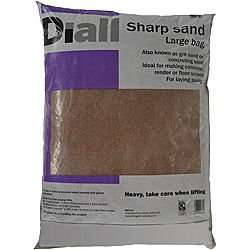 B & Q Large bag of Sharp Sand only £1 (no minimum)