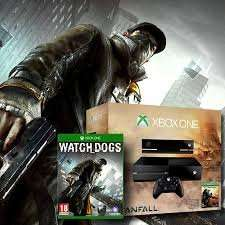 Xbox One with Titanfall and Watch Dogs £399.99 with £15 vouchers - Argos click and collect