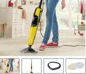Silvercrest Steam Mop for Hard Flooring, Carpets - £29.99 - LIDL - Thurs 29th May - 3 Year Warranty - 1500W - Includes 2 microfibre cloths and various carpet cleaning accessories