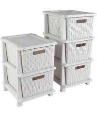 Keter Rattan 2 & 3 Drawer Storage Drawers  @ Argos was £39.99 now down to £19.99