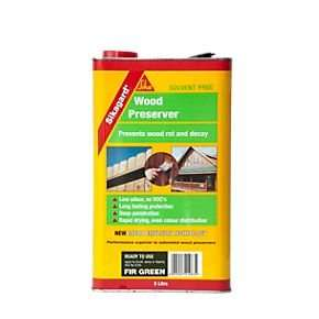 SIKA Wood Preserver Fir Green 5 Litres £9.99 @ Screwfix