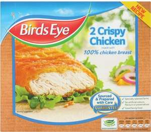 Birds Eye Crispy Chicken was £2.09 NOW £0.52P at co-op