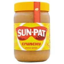 Sun-Pat peanut butter 600g - crunchy & smooth at FarmFoods