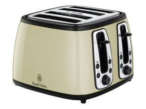 Russell Hobbs Heritage 18369 - toaster - cream for £35.00 @ ASDA Direct