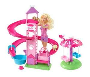Barbie Slide & Spin Pups @ HOUSE OF FRASER - £8.49