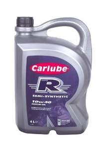 Carlube XRD004 10W40 Motor Oil - 4L Bottle from AMAZON (Free Delivery with Prime/£10 spend)