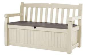 Keter Eden bench box  £66.77   @ amazon