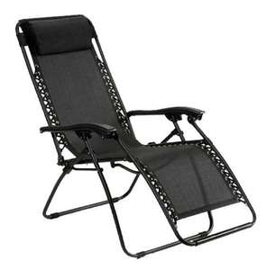 New Zero Gravity Garden Reclining chair £19.99 @ The Bed Company / Ebay