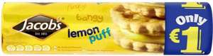 Jacob's Lemon Puff Biscuits (200g) ONLY £1.00 @ Asda