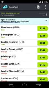 Cheapest Flights to Pakistan £267 @ Travel Trolley
