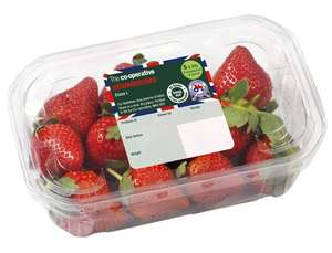 Strawberries 2x400g punnets - £2 @ Co-op