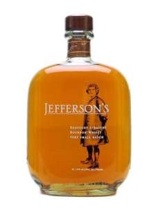 Jefferson's 700ml small batch bourbon whisky £18.99 @ Aldi