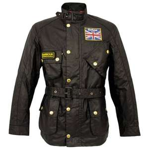 BARBOUR UNION JACK INTERNATIONAL JACKET with 10 % discount £251.00 @ Stuarts London