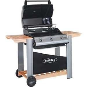 Outback Spectrum Hooded 3 Burner Gas BBQ 1/2 Price £199.99 @ Argos