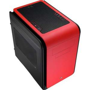Aerocool Dead Silence Gaming Cube Window (Gold Edition Case M-ATX/M-ITX - £57 expired) @ amazon (Red still avail. for £59.48  - link in comments)