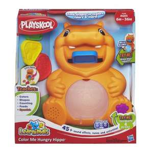 Playskool Learnimals Hungry Hippo now only £7.99 at Argos