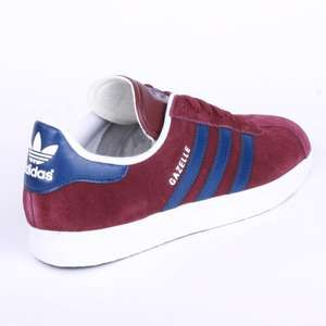 JD Sports Clearance Sale Adidas Gazelle West Ham Trainers Size 9 - £40