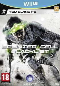 Splinter Cell Blacklist - Wii U at ShopTo and Amazon for £9.85