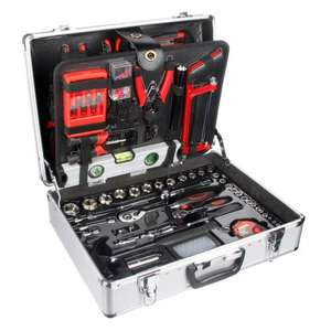 Halfords 114 Piece Aluminium Tool Set Was £149.99 now £90 with code @ Halfords