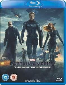 Captain America (First Avengers and Winter Soldier) 1&2 (double pack) on Blu Ray £22.25 @ Amazon