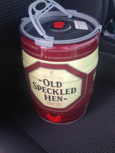 Old Speckled Hen Keg - £16 for 20 pints @ Morrisons in-store