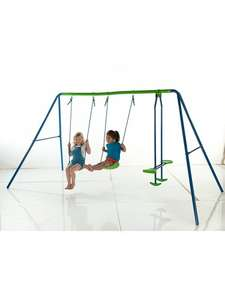 Double swing and seesaw set £40 at asda direct