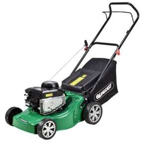 Qualcast Petrol Lawnmower - Homebase £156.95 delivered with code @ Homesbase + quidco