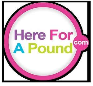 Free delivery, usually £3.50 under £15 @ hereforapound