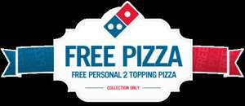 """Free 7"""" Domino's pizza  Colne"""